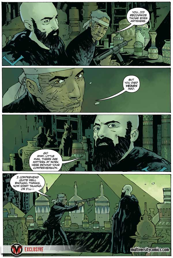 """Rasputin: The Voice of the Dragon"" #5, preview page 2"