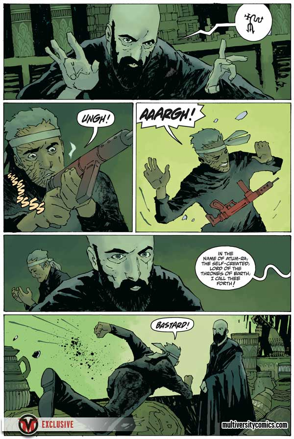 """Rasputin: The Voice of the Dragon"" #5, preview page 3"