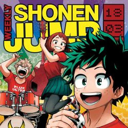 Weekly Shonen Jump March 26, 2018 Featured