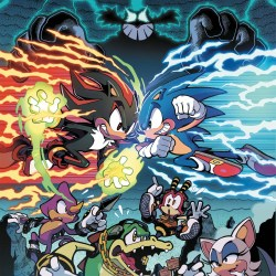 Sonic the Hedgehog 6 IDW cover