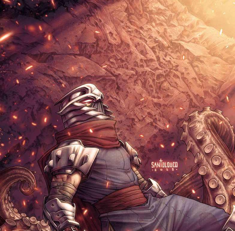 """Teenage Mutant Ninja Turtles: Shredder in Hell"" #1"