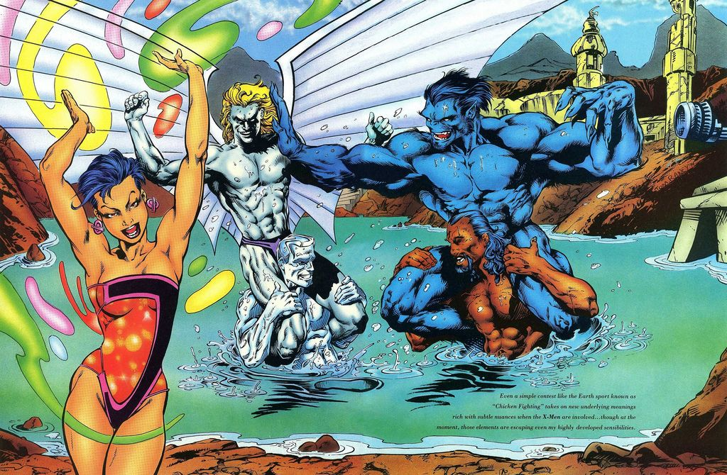 X-Men-Vacation