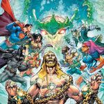"""""""Justice League"""" and """"Aquaman"""" Crossover in 'Drowned Earth'"""