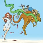 """Exclusive Preview: """"Giant Days: Where Women Glow and Men Plunder"""" #1"""