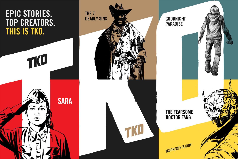 TKO Studios Announces Their Launch Lineup U2013 Multiversity