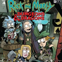 Dungeons & Dragons vs Rick & Morty #4 featured