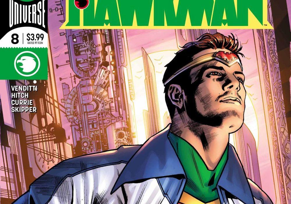 Hawkman 8 Featured