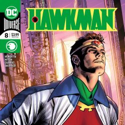 Hawkman 8 Featured