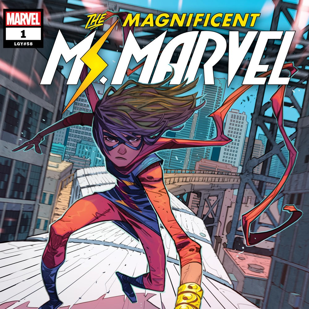 """Magnificent Ms. Marvel"" #1"