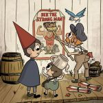 "Exclusive: New Over The Garden Wall OGN, ""Circus Friends,"" from Jonathan Case,  John Golden, and BOOM! Studios Due in October"
