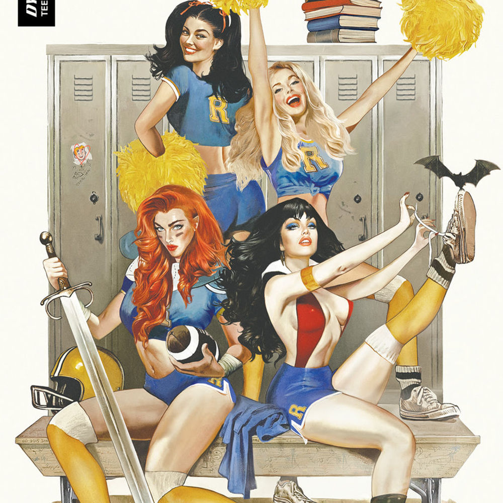 """Dynamite and Archie Comics Crossover """"Red Sonja and Vampirella Meet Betty and Veronica"""" Announced"""