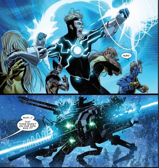 uncanny-x-men-14-Havok-vs-Metal-Gear