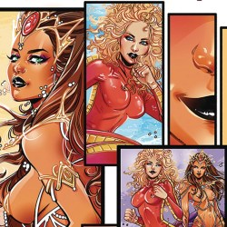 Barbarella Dejah Thoris #3 Featured