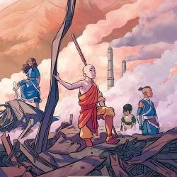 Avatar The Last Airbender Imbalance Vol 2 cover - cropped