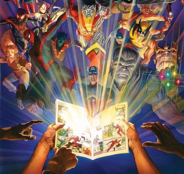Marvel Comics #1000 featured