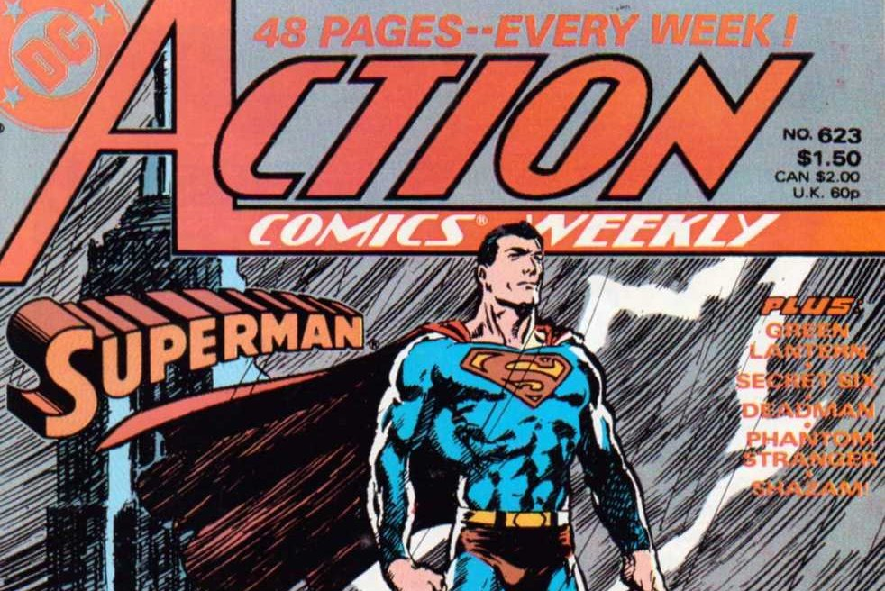 Action Comics Weekly 623 Featured