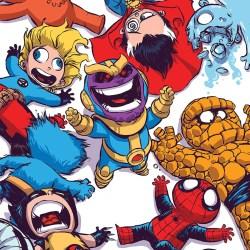The Marvel Comics Art of Skottie Young