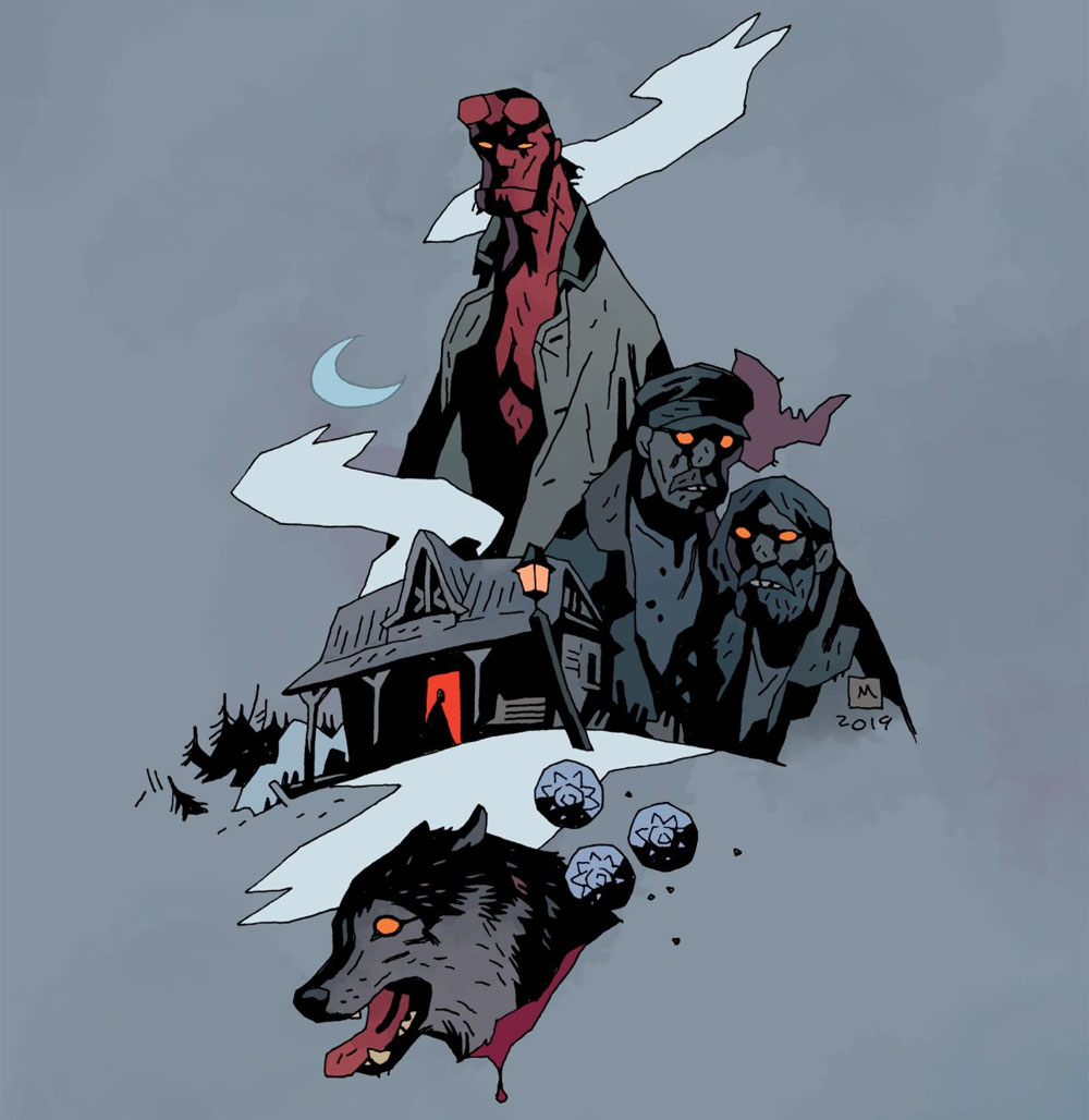 """SDCC '19: Dark Horse Announces """"Hellboy and the B.P.R.D.: Long Night at Goloski Station"""""""