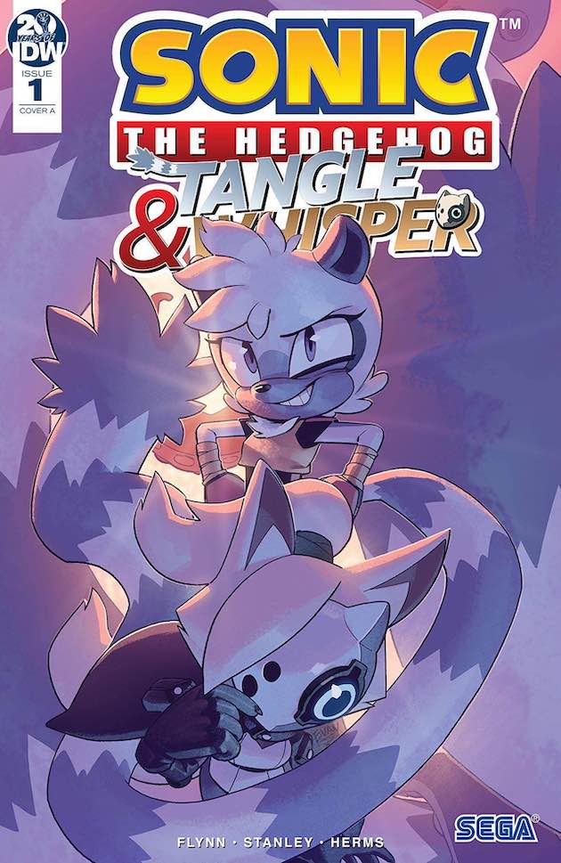 Sonic The Hedgehog Tangle And Whisper 1 Multiversity Comics
