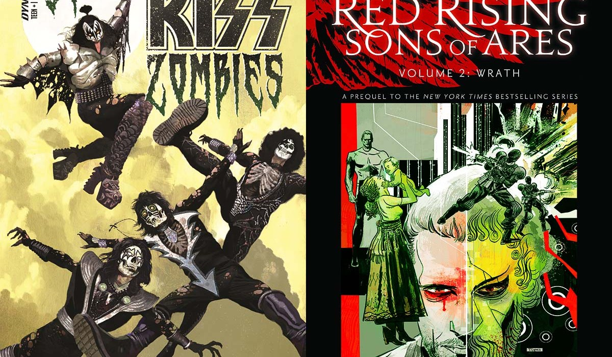 """Dynamite Announces """"KISS: Zombies"""" and Second """"Red Rising"""