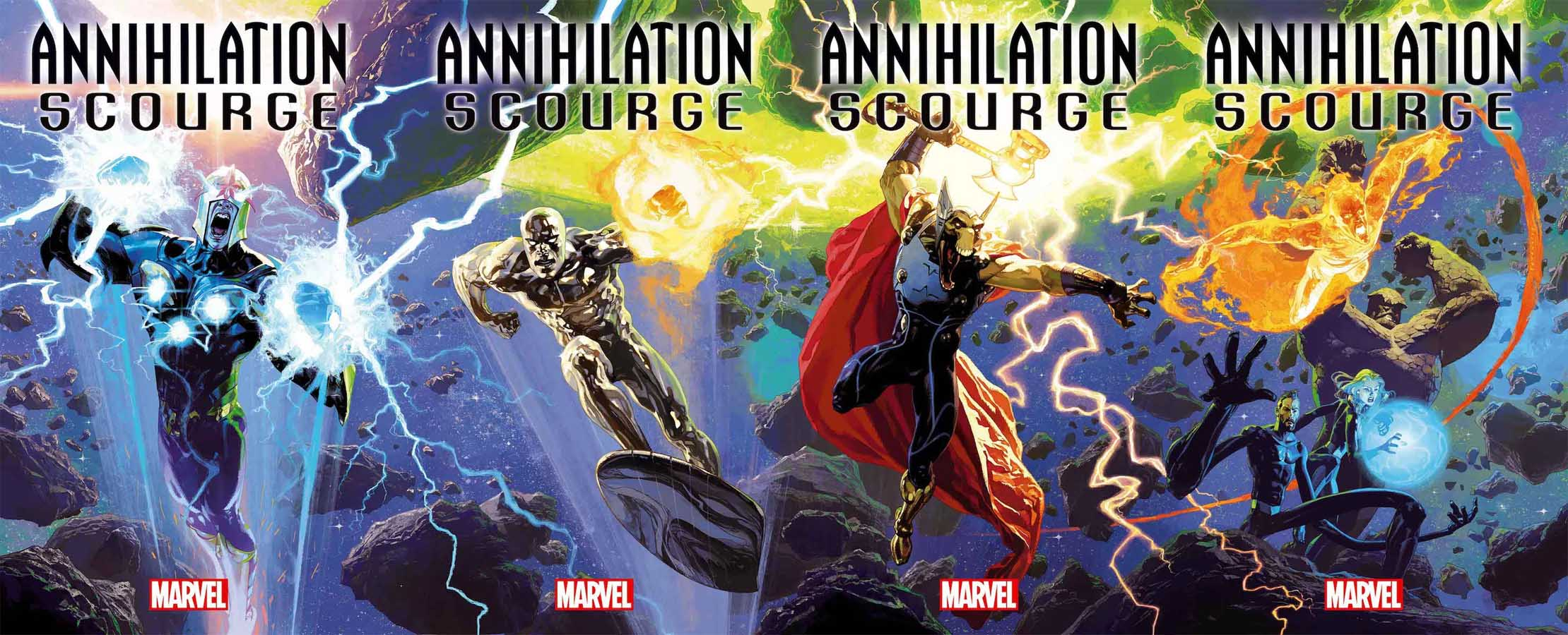 'Annihilation: Scourge' One-Shots Revealed for December