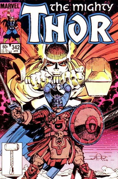 """""""The Mighty Thor"""" 341-345"""