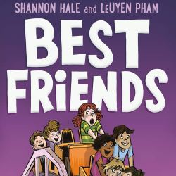 best friends shannon hale leuyen pham first second cover