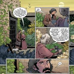 Feature: Witchfinder: The Reign of Darkness #3 interiors
