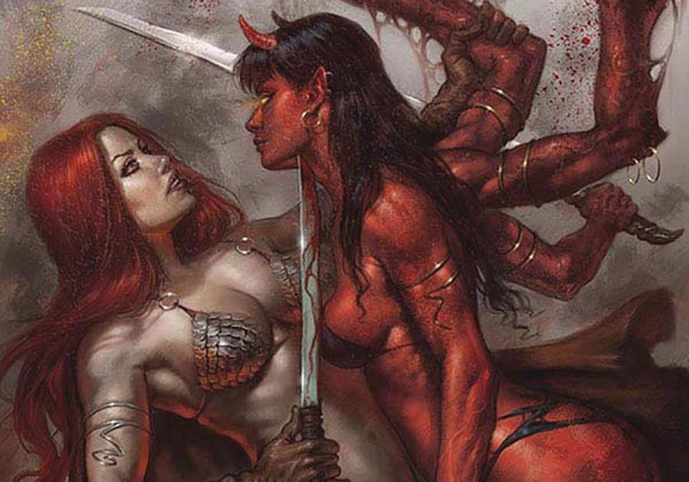 Red Sonja Age of Chaos #1 Featured