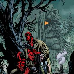 Feature: Hellboy and the B.P.R.D.: The Return of Effie Kolb #1 (Howard cover)