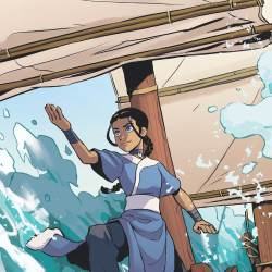 Feature: Avatar: The Last Airbender—Katara and the Pirate's Silver (cover)