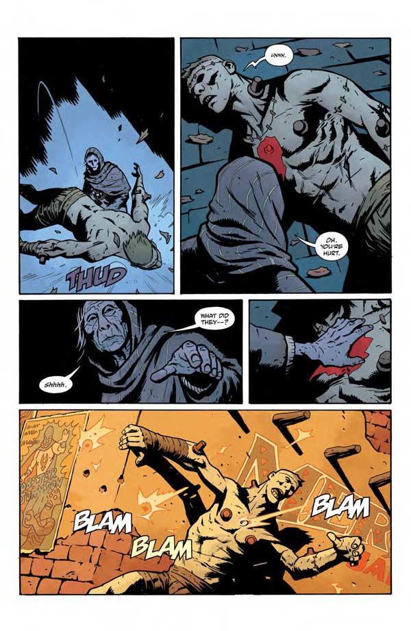 """""""Frankenstein Underground"""" #1 page 2"""