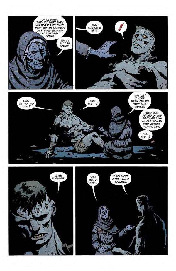 """""""Frankenstein Underground"""" #1 page 3"""