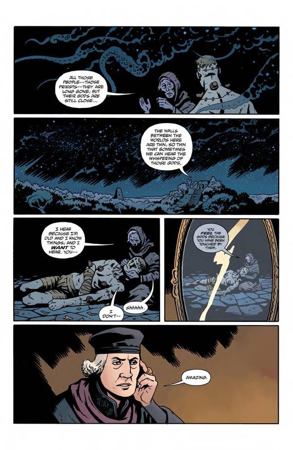 """""""Frankenstein Underground"""" #1 page 8"""