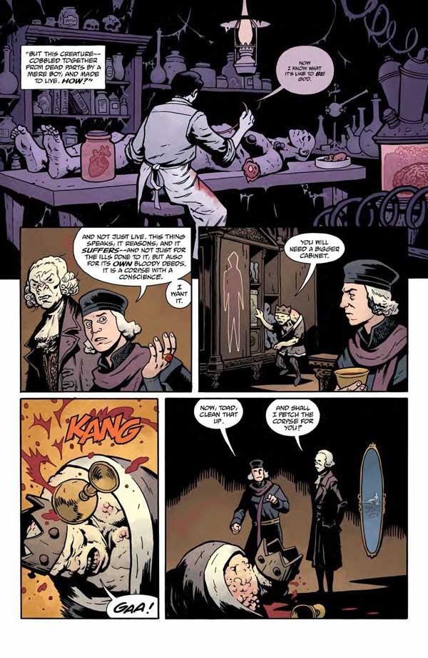 """""""Frankenstein Underground"""" #1 page 10"""