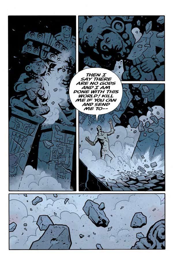 """""""Frankenstein Underground"""" #1 page 21"""