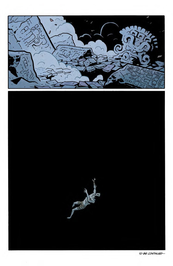 """""""Frankenstein Underground"""" #1 page 22"""