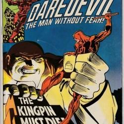 Daredevil #170 featured