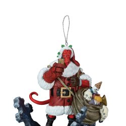 Feature: Hellboy ornament