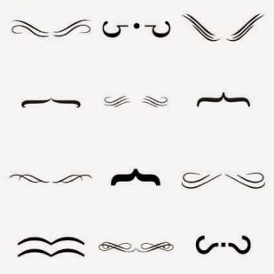 Bigotes tipográficos © Ursua Ajona_Beatriz