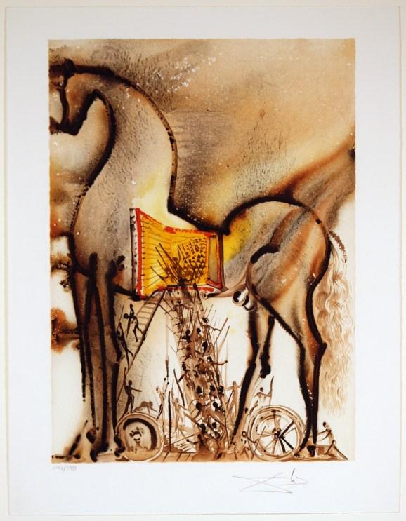 """Le Cheval de Troie"" by Slavador Dali"