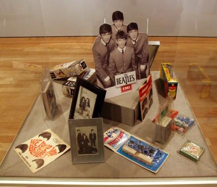 Beatles Memorabilia Exhibit
