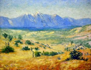 """""""Desert Scene"""" by Lester Gillette"""