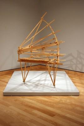 Exhibit featuring Ken Butler Artwork