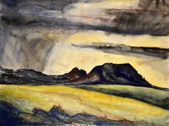 """""""Dark Mountains"""" by Paul Mannen"""