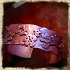 Cherry Blossom Cuff