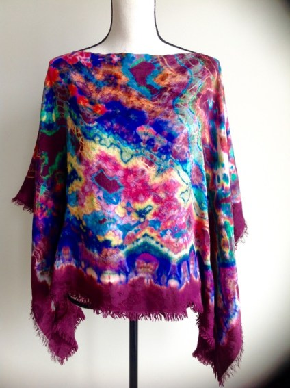 Hand Dyed Silk Top 1