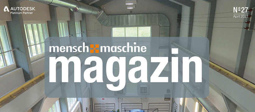 MuM Magazin Nr.27 / Maschinenbau trifft Architektur: Industrielles BIM verbindet zwei Welten