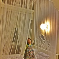 Playing Frozen at the magical Palazzo Novello