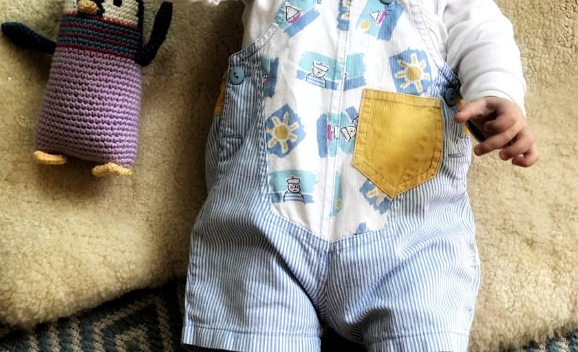 Fünf Monate Winterbaby, fünf Monate Sonnenschein